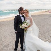 Bride and Groom Palm Beach